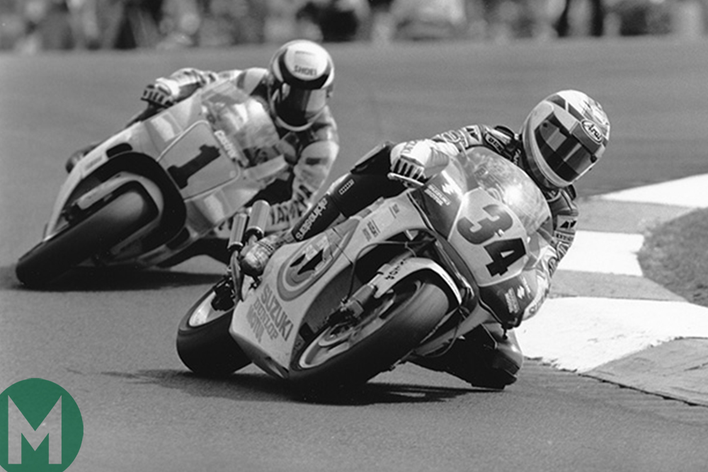 Schwantz and Rainey Donington 1991