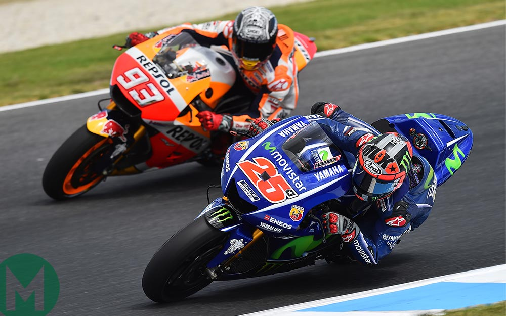 MotoGP's Maverick poses a new challenge for Marquez