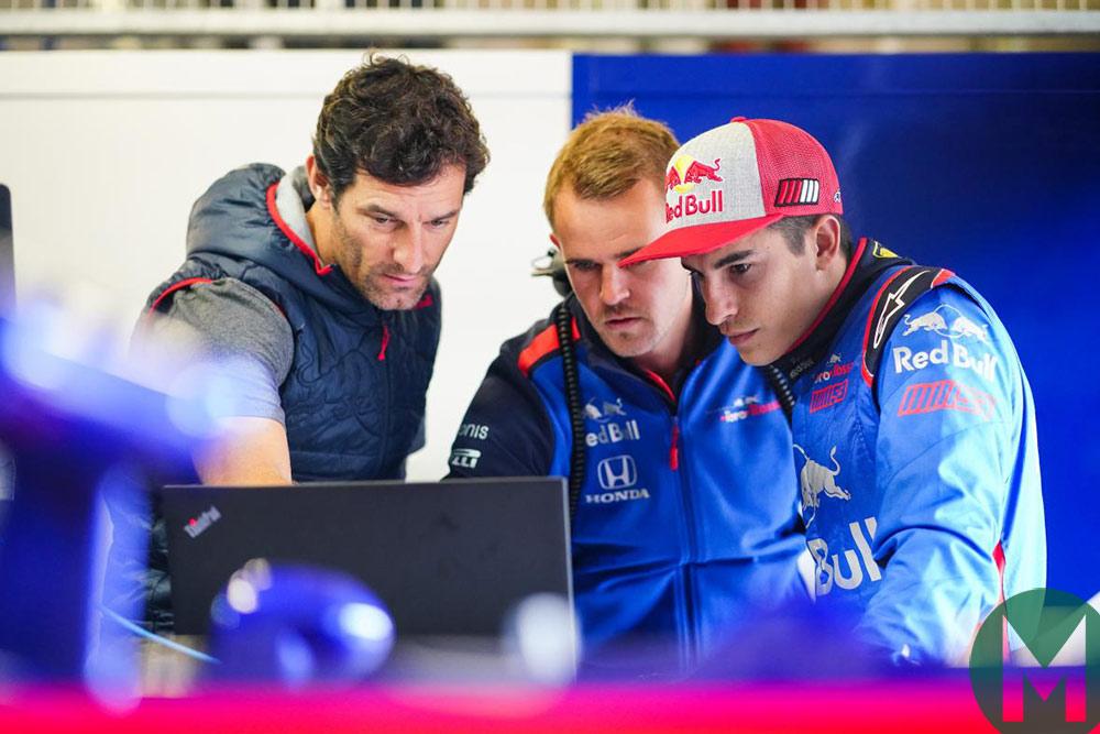 Mark Webber 2018 F1 Phillip Island