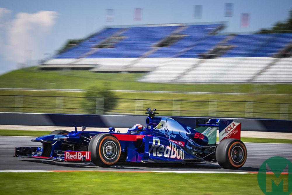 Marc Márquez tests F1 car Phillip Island 2018