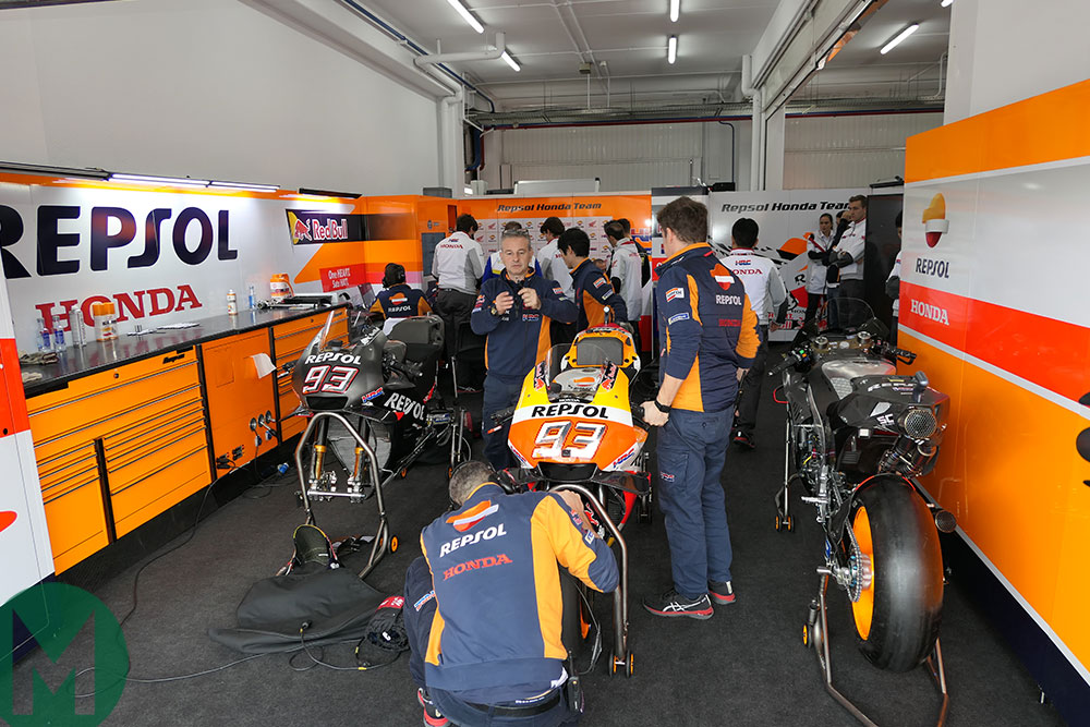 HRC garage valencia test