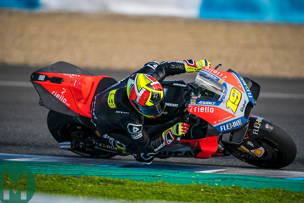 Ducati Jerez test 2018