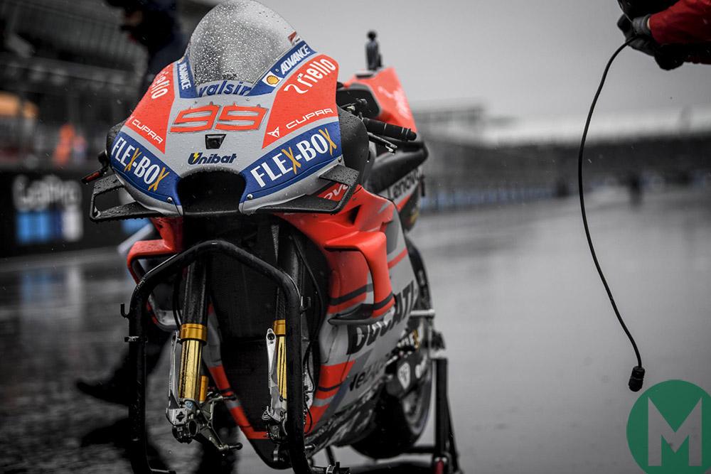 Andrea Dovizioso motorcycle 2018 Silverstone MotoGP