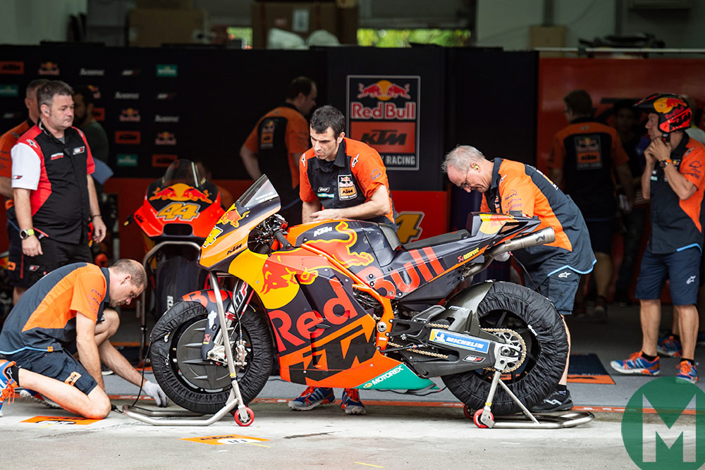 KTM Suzuka MotoGP 2018