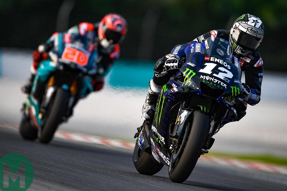 Vinales 2019 MotoGP testing Sepang