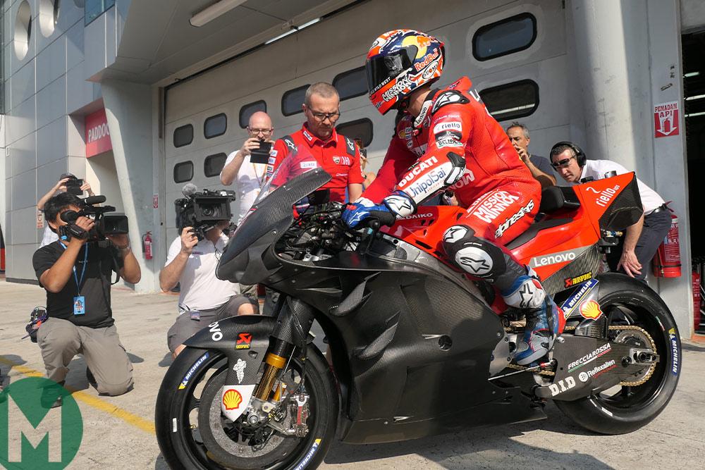 Ducati MotoGP testing Sepang 2019