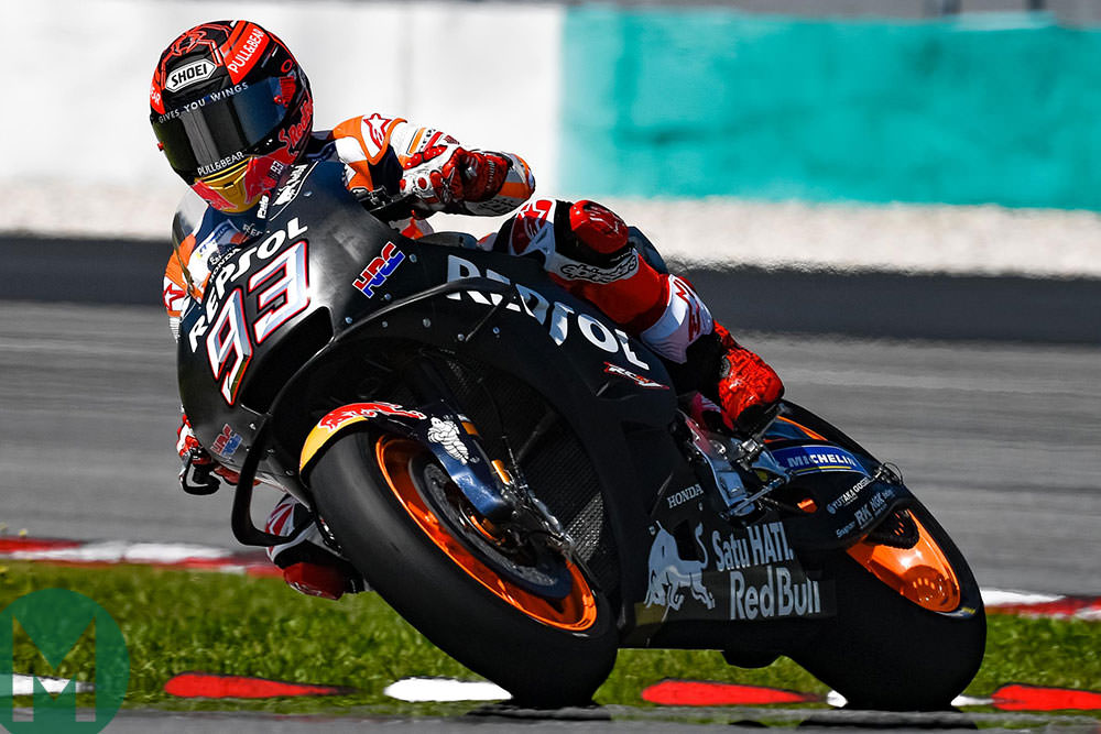 Marc Márquez 2019 Sepang winter test motogp 2019