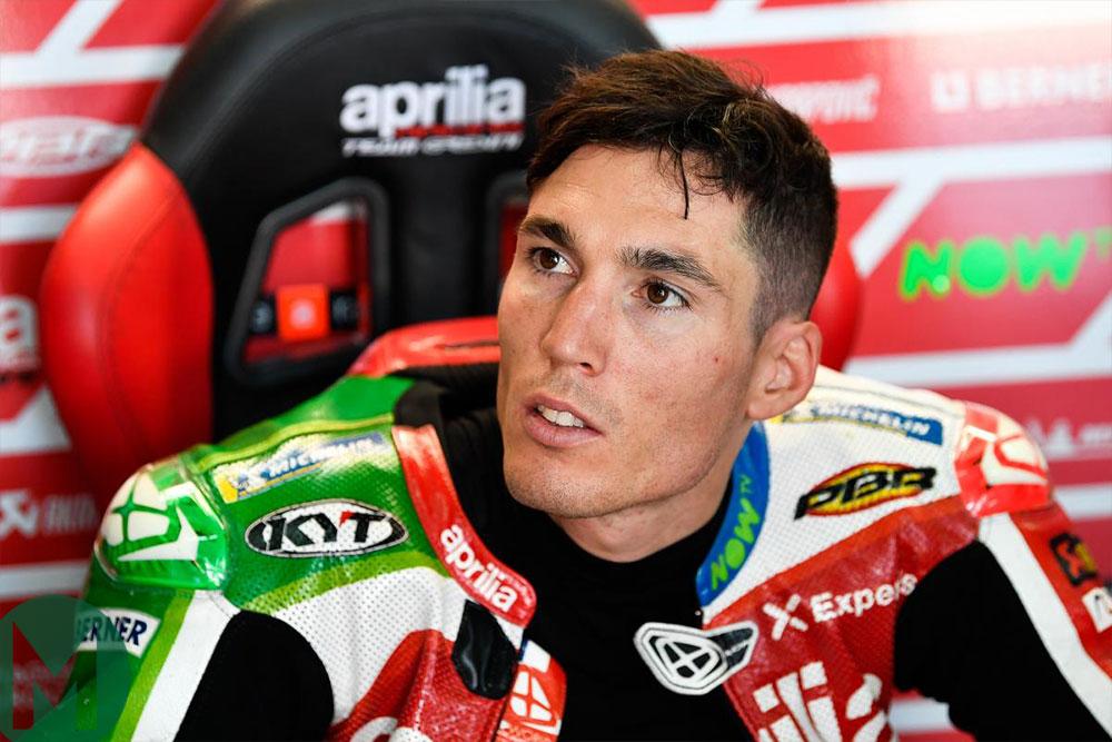 Aleix Espargaro MotoGP Aprilia at Aragon 2018