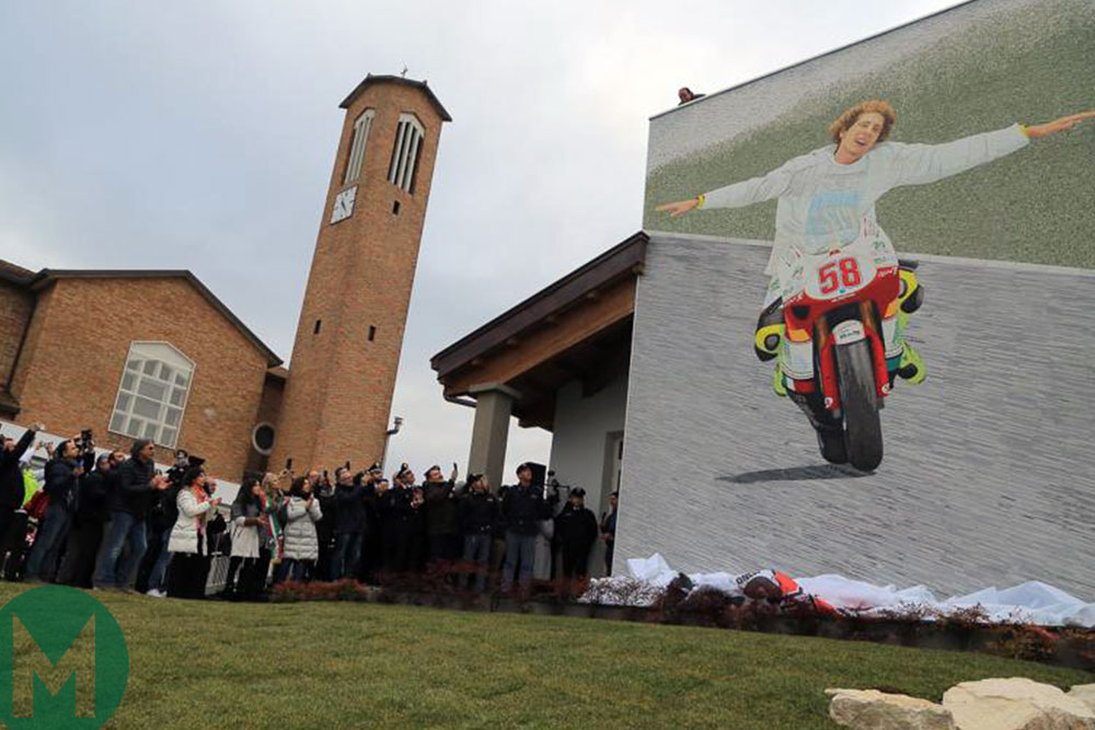 Marco Simoncelli charity opening