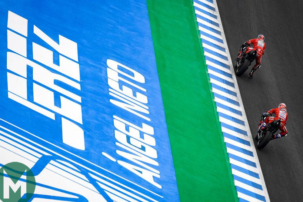 Jerez 2019 Ducatis