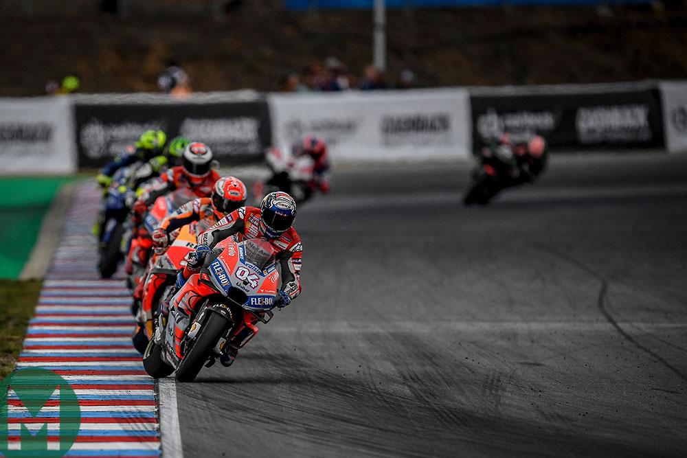 ducati vs Honda MotoGP