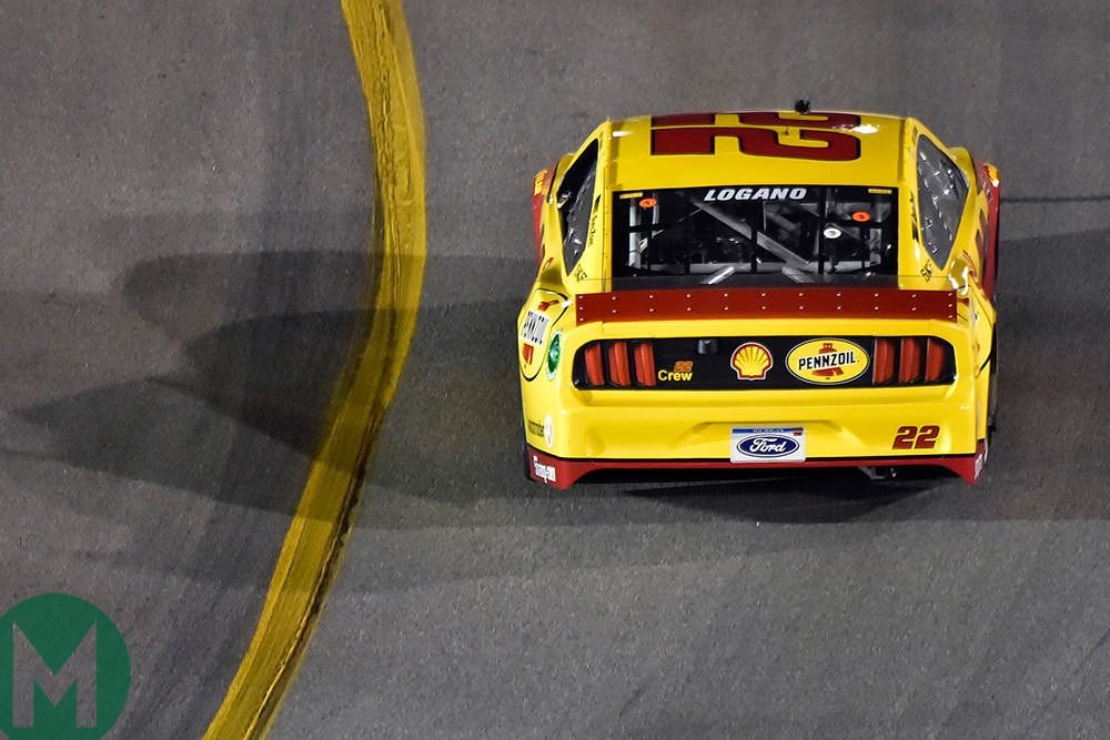 Ford 22 NASCAR Joey Logano 2019