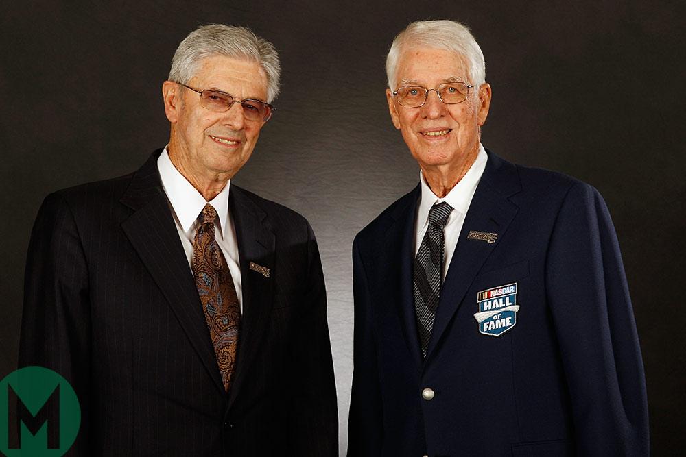 Leonard Wood and Glen Wood, NASCAR Hall of Fame