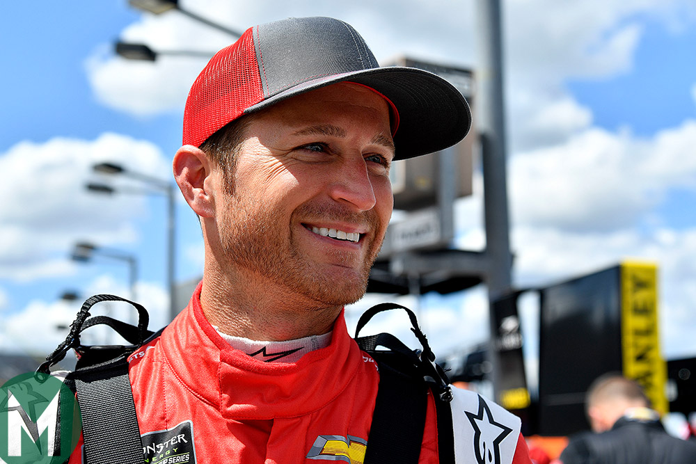 Kasey Kahne, who's stepping back from NASCAR