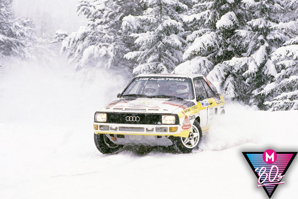 Audi Quattro 1980s rally