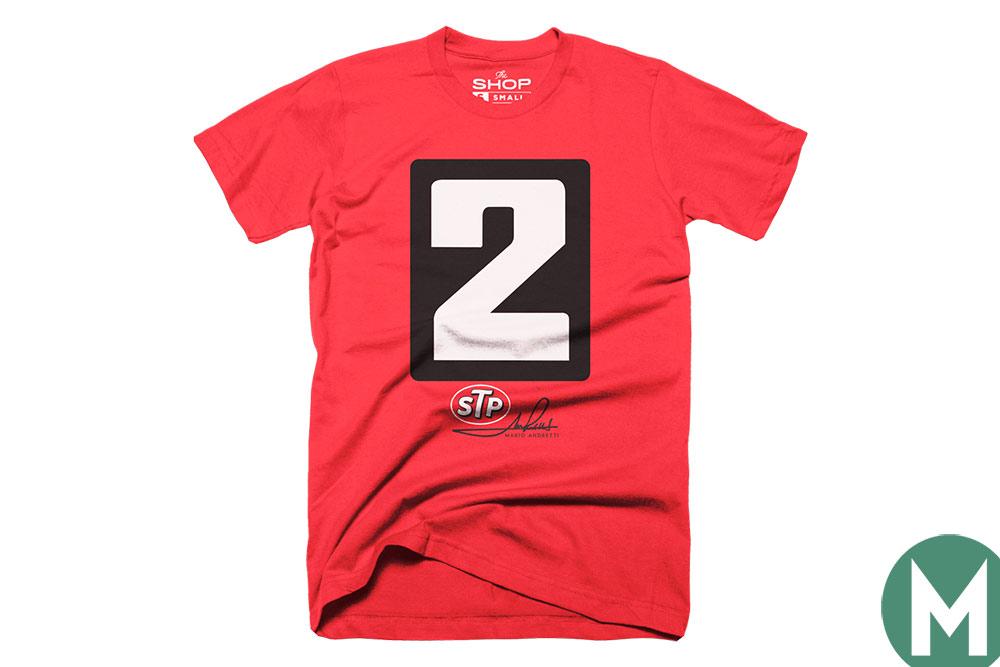 Mario Andretti t shirt