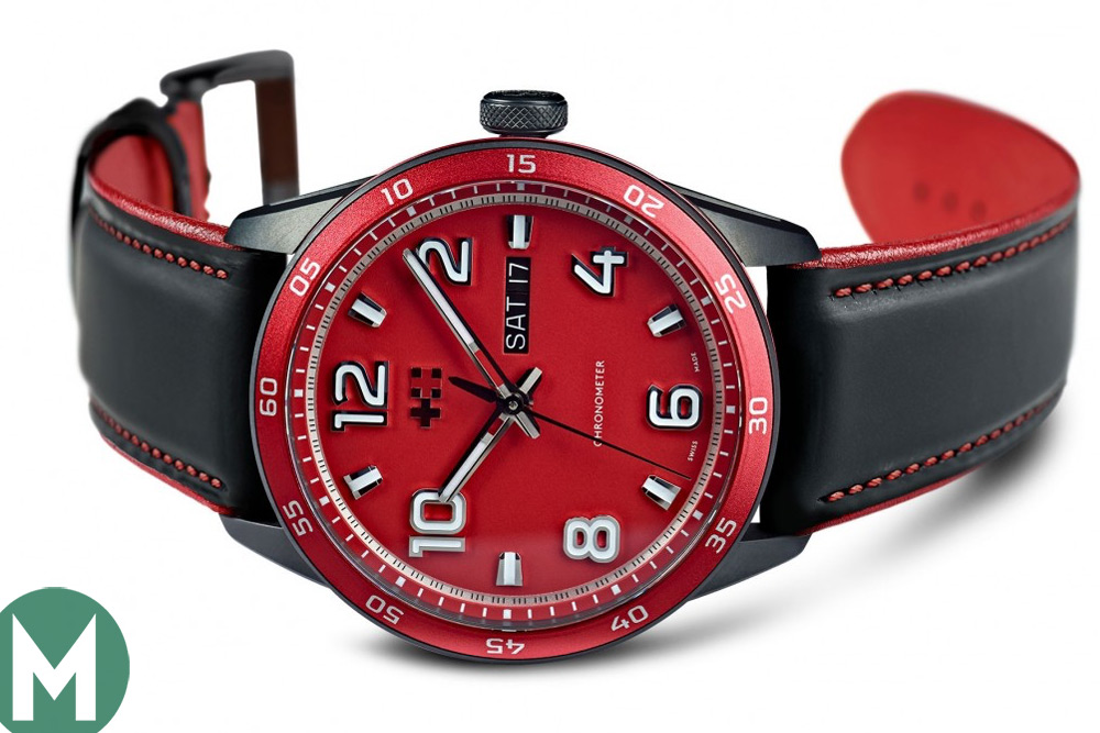 Christopher Ward's Rosso watch
