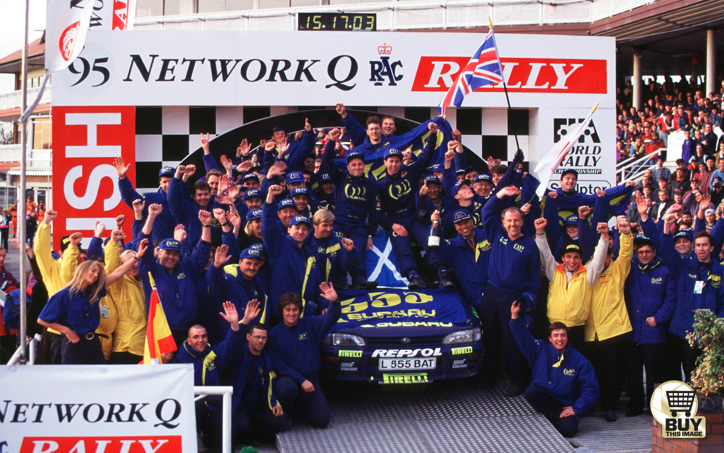 When Colin McRae won the 1995 title | Motor Sport Magazine