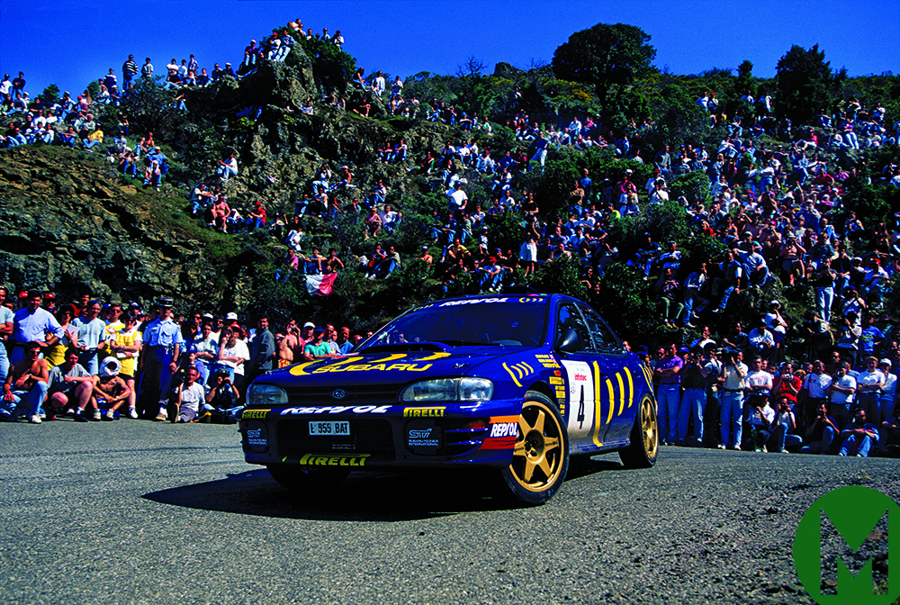 Colin McRae in his 1995 championship year