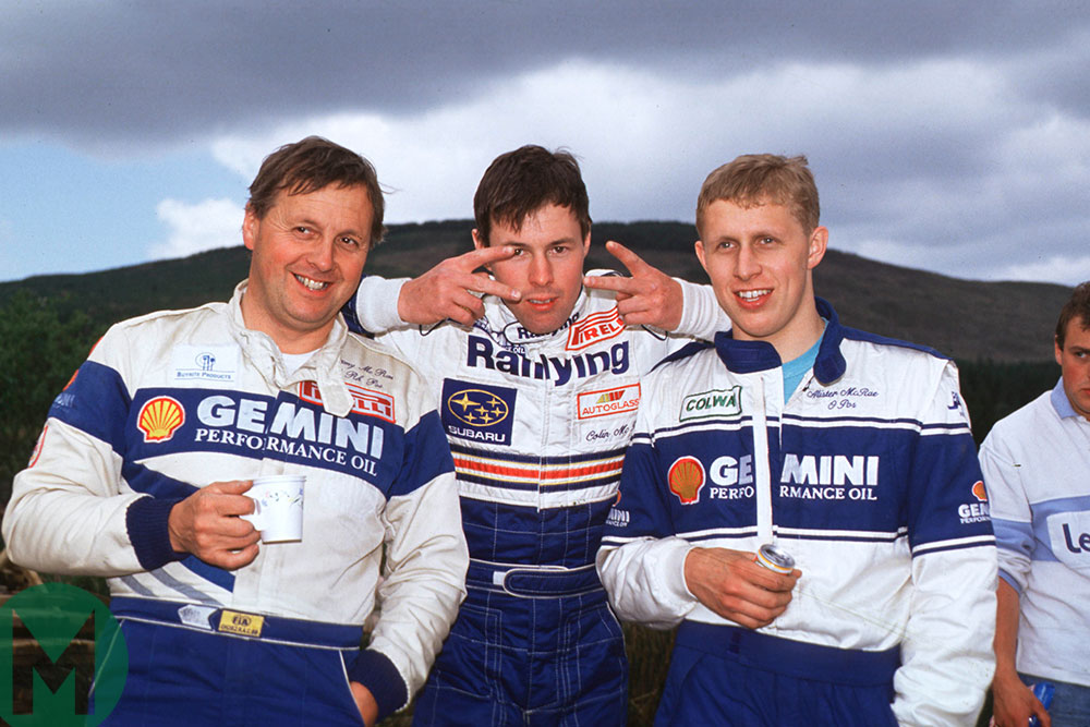 Jimmy, Colin and Alister McRae