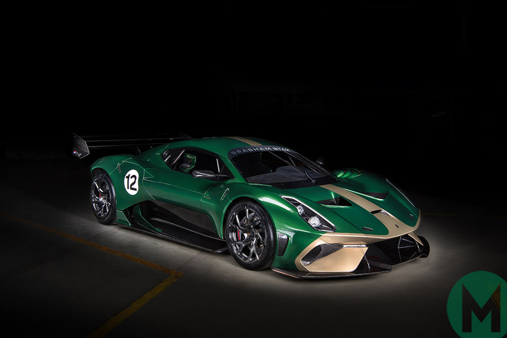 The new Brabham BT62 hypercar