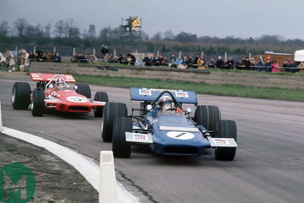 Stewart leads Amon in March 701s