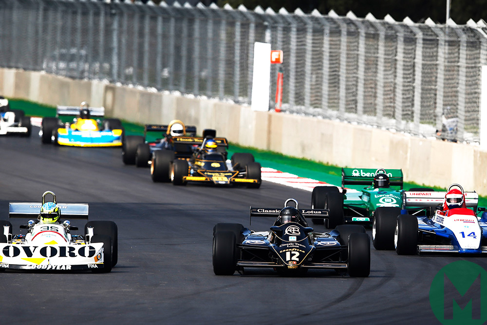 British GP to be supported by historic F1 cars