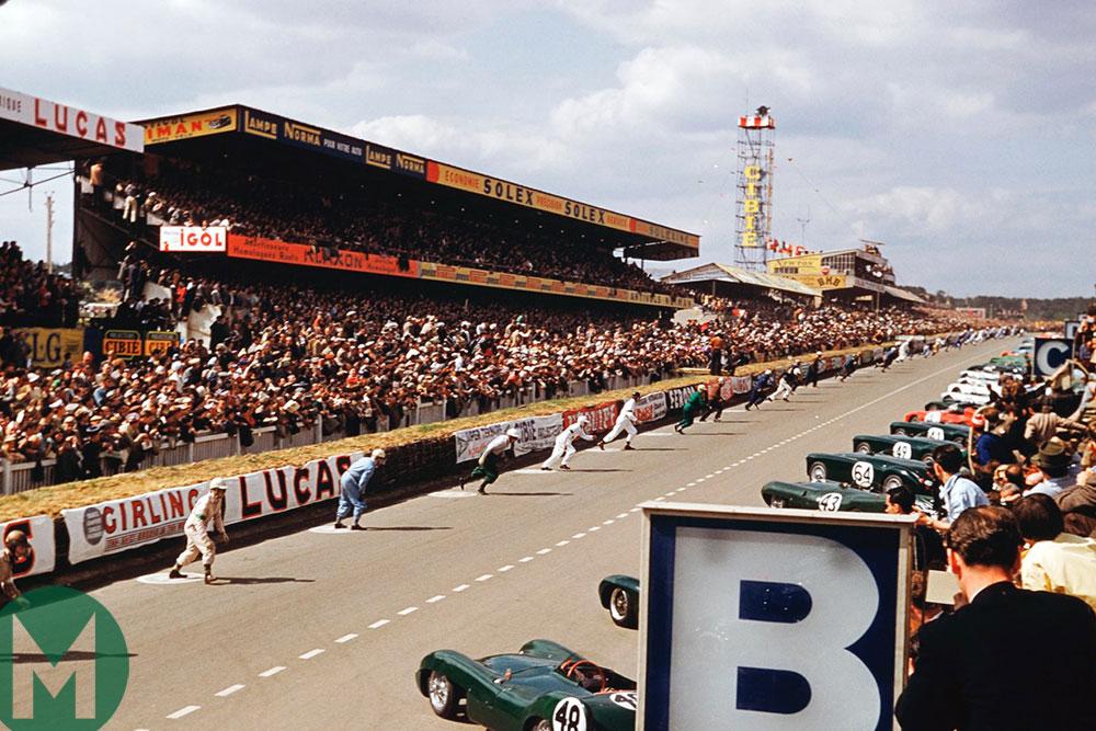 1955 Le Mans 24 Hours start