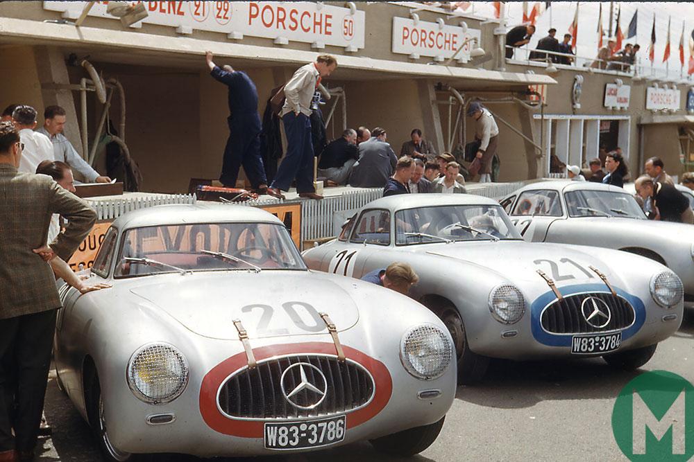 Phil Hill Mercedes SLs