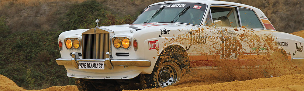 Dakar Rolls Royce