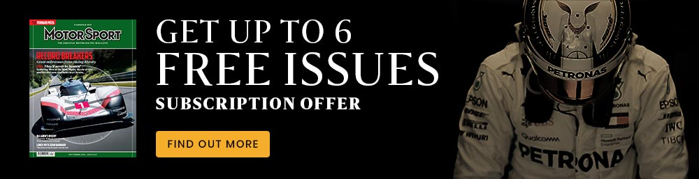 subscription offer for motor sport magazine free issues