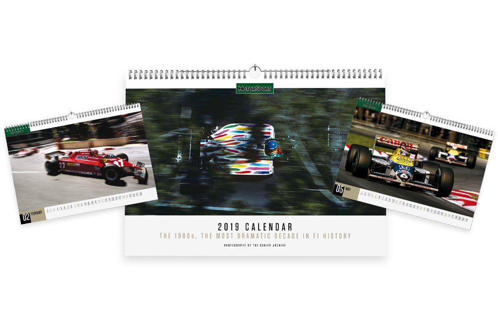 Motor Sport 2019 Calendar