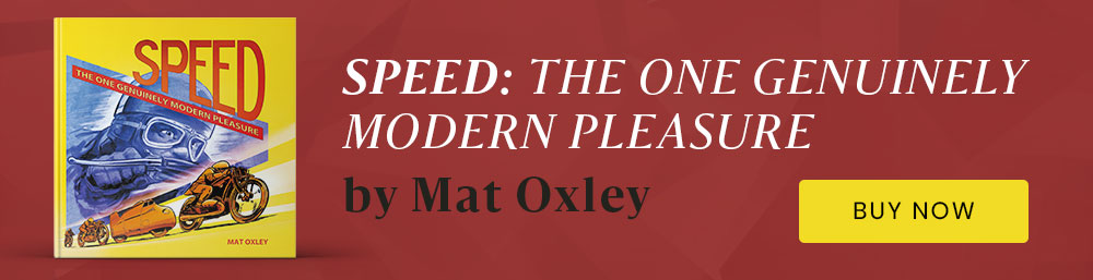 Mat Oxley Speed book