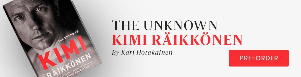 Kimi Räikkönen book
