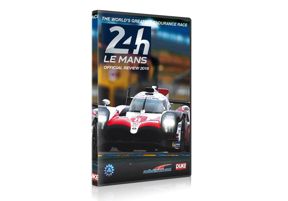 24 Hours of Le Mans 2018 Official Review DVD and Blu-ray