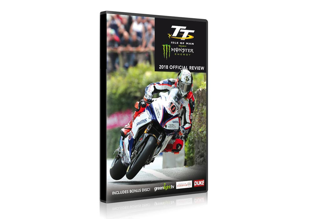 Isle of Man TT Official Review DVD and Blu-ray