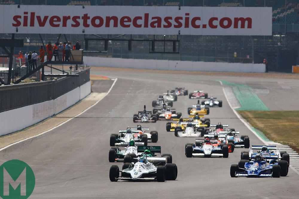 2018 Silverstone Classic historic F1