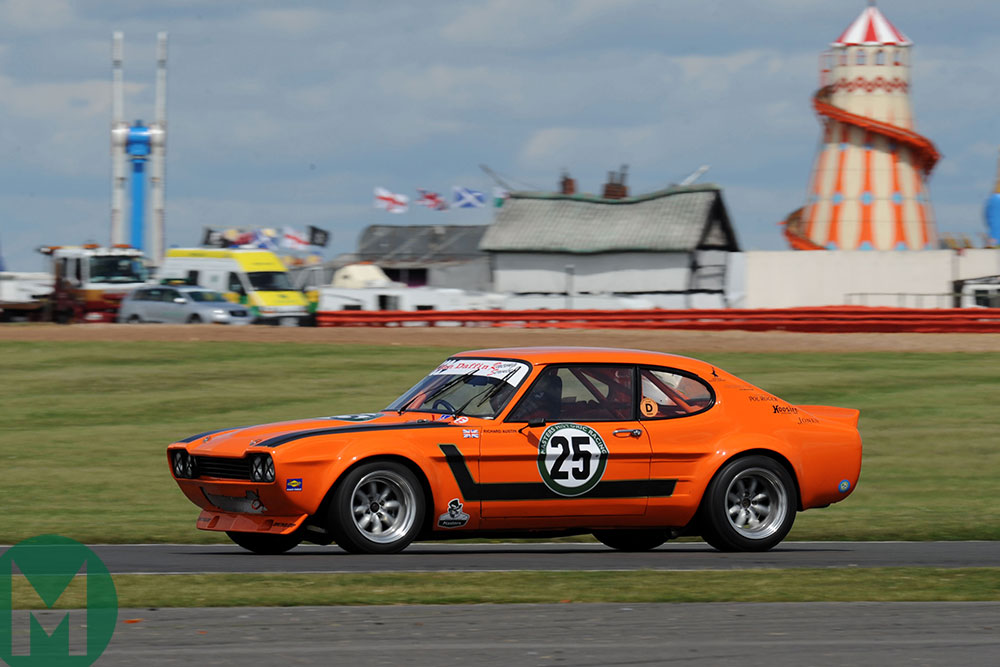 Ford Capri at the 2009 Silverstone Classic