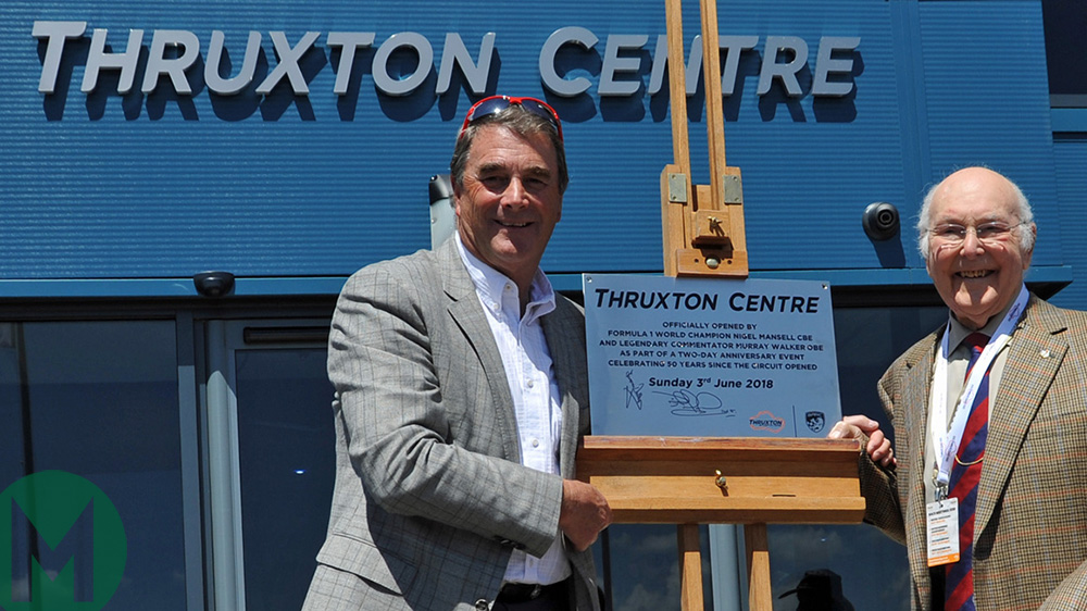 Mansell and Murray open Thruxton Centr