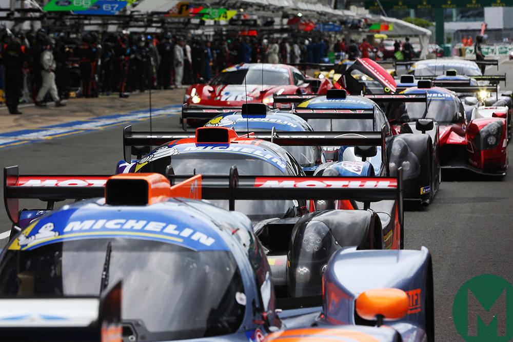 2018 Road to Le Mans pit