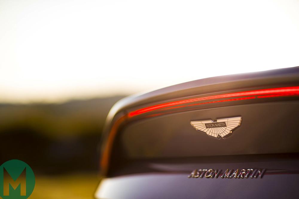 Aston Martin Vantage rear DTM 2019