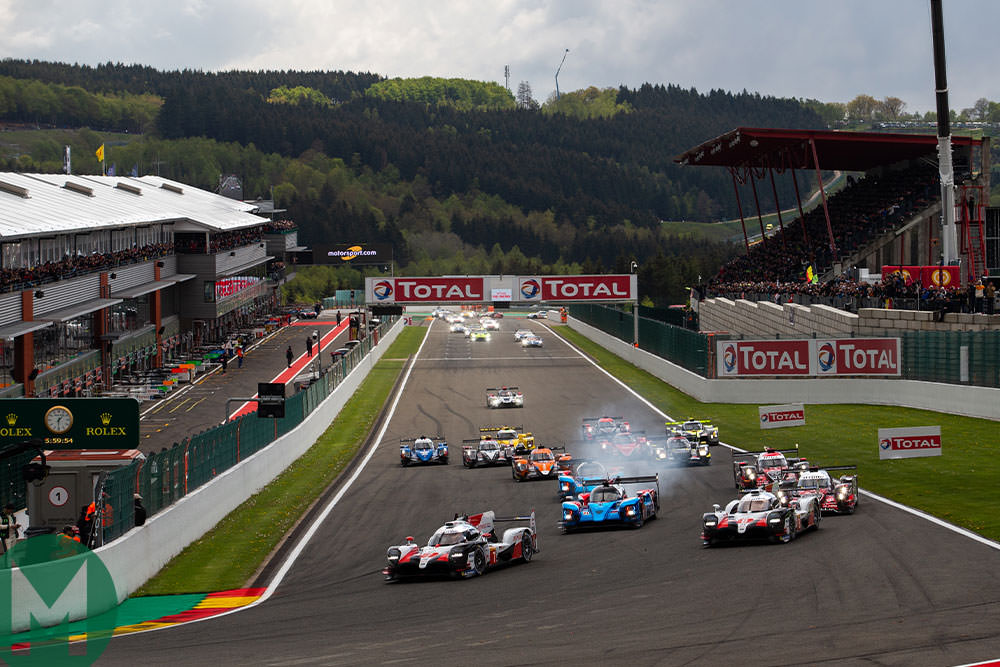 WEC 6 Hours of Spa 2019 start