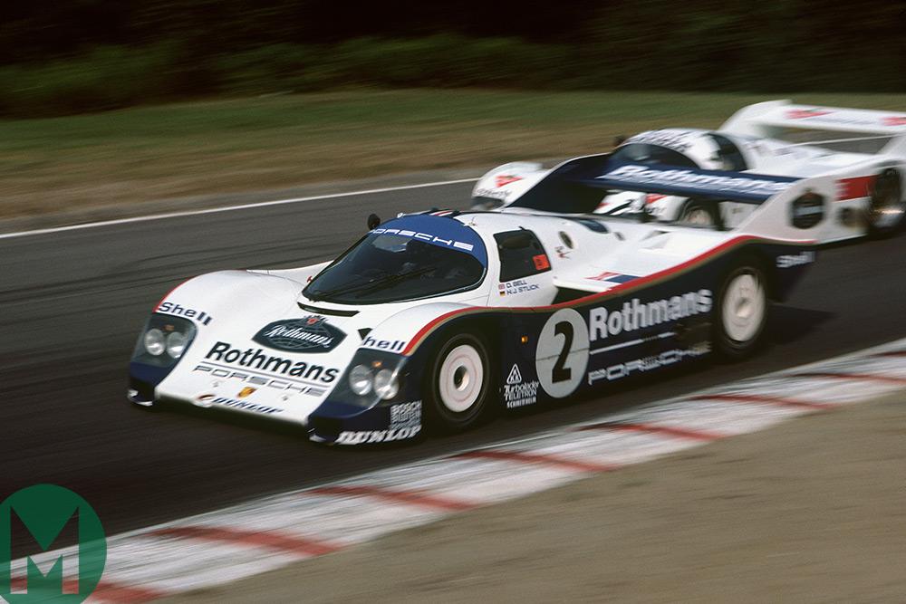 Derek Bell Mosport 19855