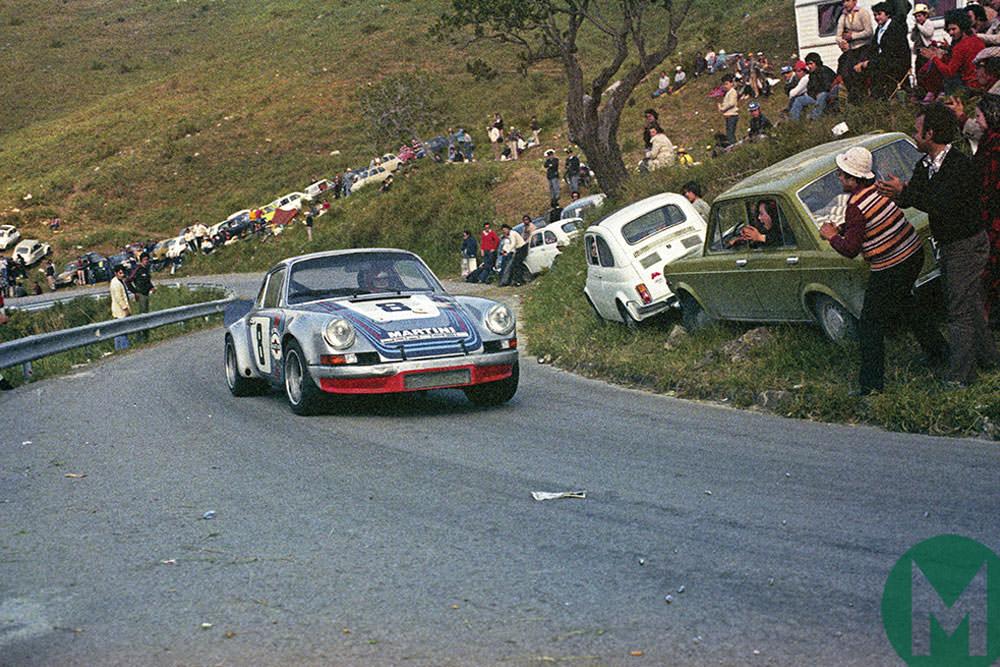 1973 targa Florio Porsche 911 RSR