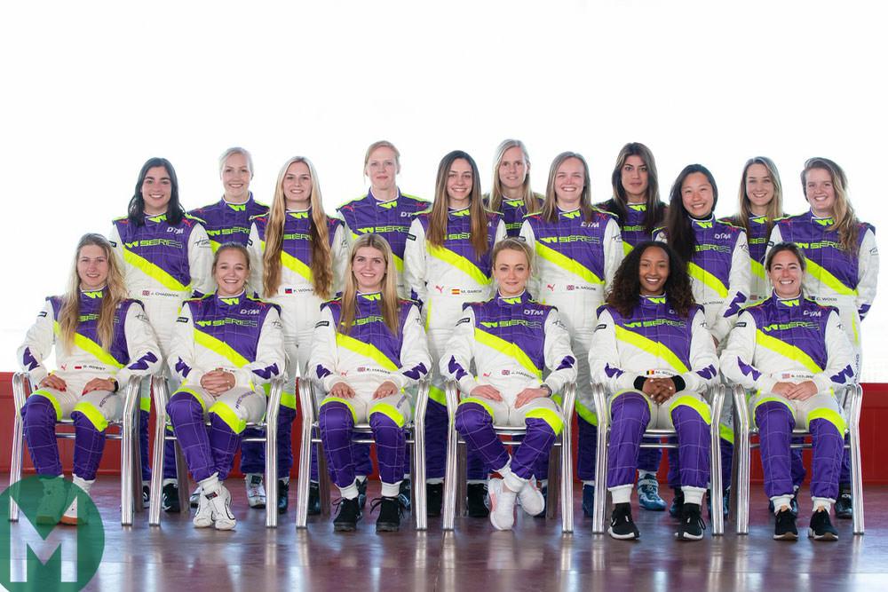 2019 W Series grid set