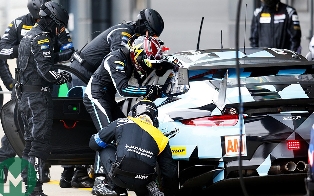 When Youre Hunkering Down At Le Mans 3am Into Your Sleeping Bag Spare A Thought For Some Of These Men And Women