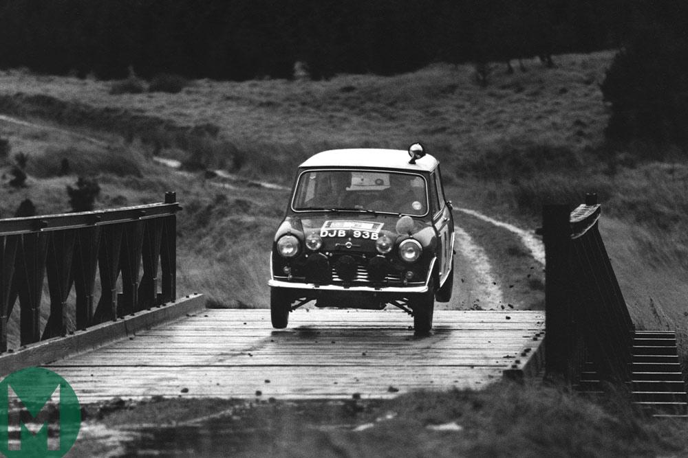 Rauno Aaltonen 1965 RAC rally