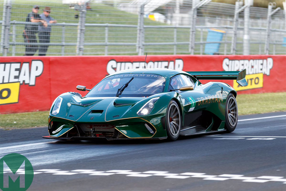 Brabham BT62 sets lap record at Bathurst