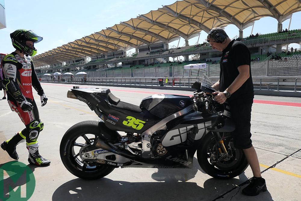 Cal Crutchlow 2019 MotoGP testing