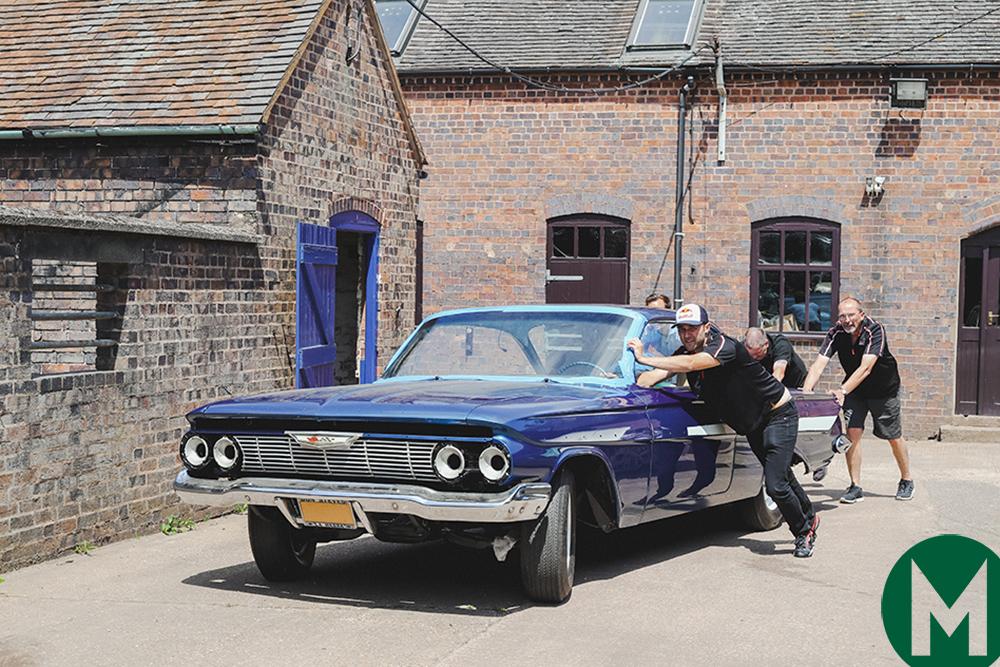 Dan Gurney 1961 Chevy Impala